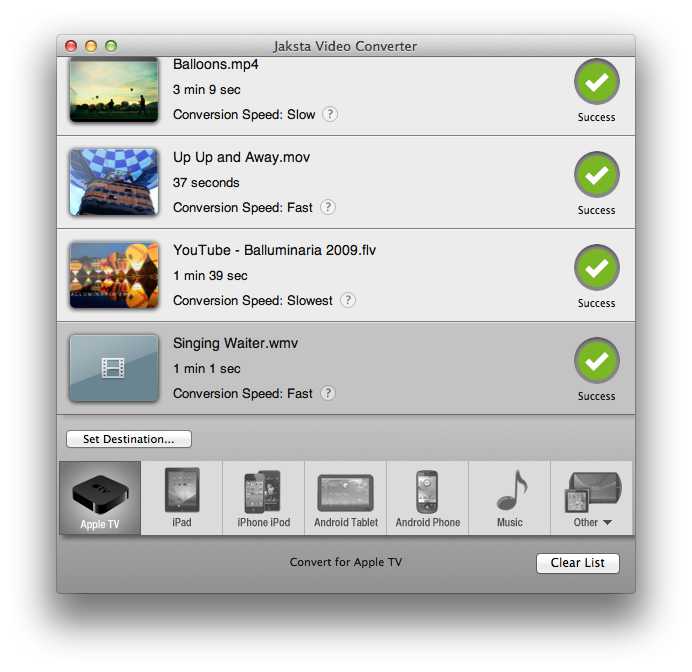Picture of Jaksta Converter for Mac