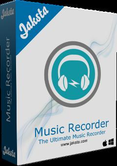 Jaksta Music Recorder for Mac Boxshot