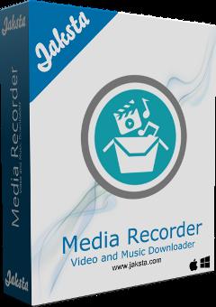 Jaksta Media Recorder for Mac Boxshot