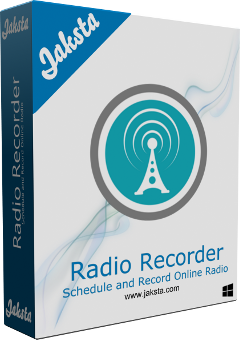 Jaksta Radio Recorder for Windows Boxshot