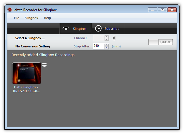 Picture of Jaksta Recorder for Slingbox