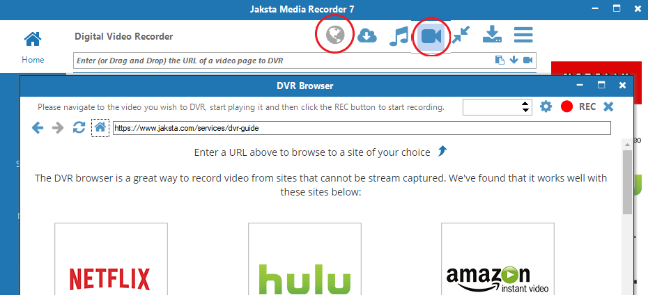 Step 2 to download from Linktv.org