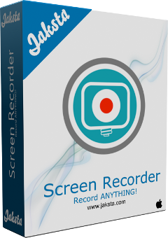 Jaksta Screen Recorder for Mac Boxshot