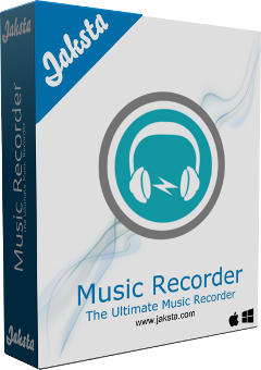 Jaksta Music Recorder for Windows Boxshot