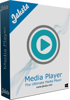 Jaksta Media Player for Windows Boxshot