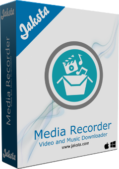 Jaksta Media Recorder for Windows Boxshot